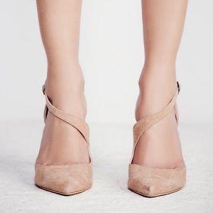 free people x farylrobin nude heel